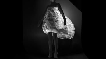 3dTrio dress